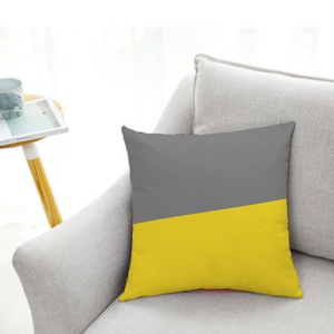 Gối Sofa G1 - Vàng/Xám