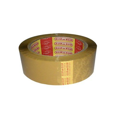 1 cuộn băng keo dán thùng màu nâu