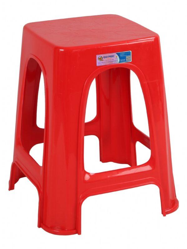 Ghế nhựa chữ A [Màu đỏ]